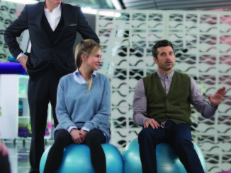 "Bridget Jones's Baby  (L to r) COLIN FIRTH, RENEE ZELLWEGER and PATRICK DEMPSEY in ""BRIDGET JONES'S BABY""  Photo Credit: Giles Keyte  Copyright: © 2016 Universal Studios. ALL RIGHTS RESERVED."