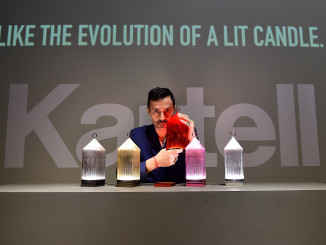 Designer Fabio Novembre poses at Kartell Talking Minds during Milan Design Week 2016 on April 12, 2016, in Milan, Italy.  (Photo by Tullio M. Puglia/Getty Images for Kartell)
