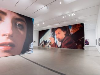 Installation of Cindy Sherman: Imitation of Life exhibition; photo by Ben Gibbs