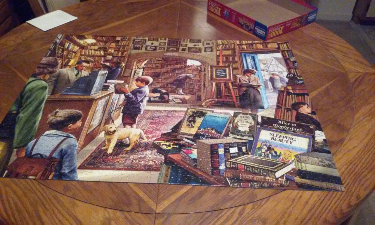 bookstore puzzle