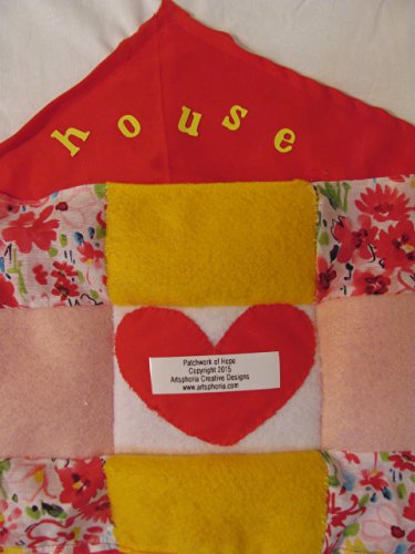 "Artsphoria Craft Boutique Patchwork of Hope: ""House"" T-shirt or wall hanging"