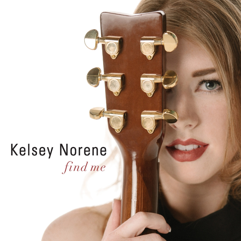 "KELSEY NORENE - ""Find Me"" EP - available now (PRNewsFoto/Norene Now Publishing)"