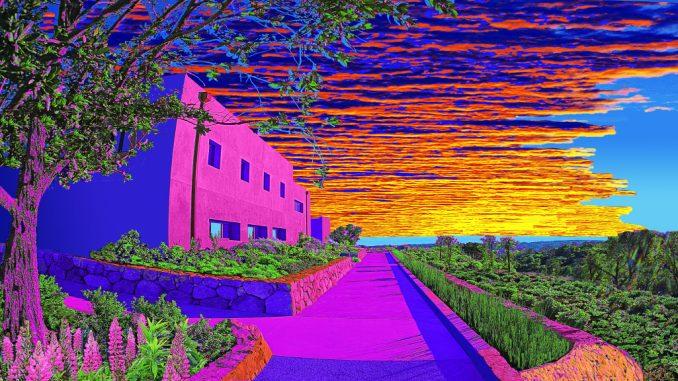 Santa Barbara Botanic Garden At Sunset ...